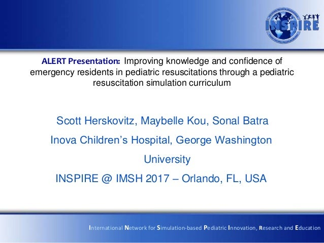 ALERT Presentation: Improving knowledge and confidence of emergency residents in pediatric resuscitations through a pediat...