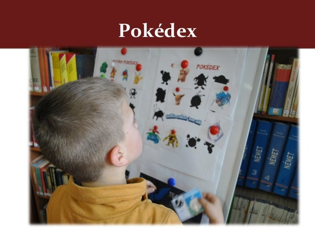 Pokemon card with a silhoutte of a pokemon and the dewey classification system number