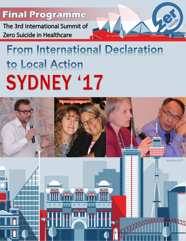 The 3rd International Summit of Zero Suicide in Healthcare Version 3.9