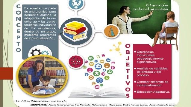 Exposición educación individualizada y educación personalizada Slide 3
