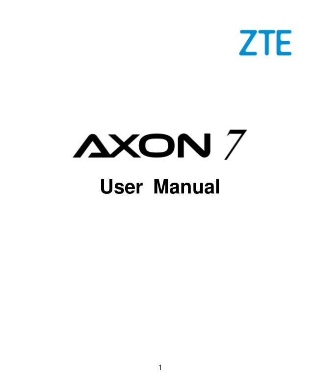 1 User Manual