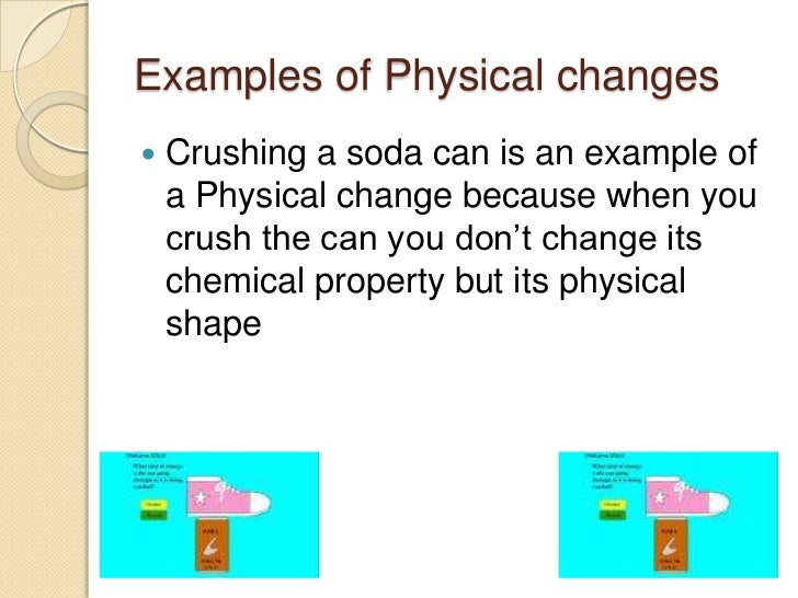 Is Crushing A Physical Or Chemical Property