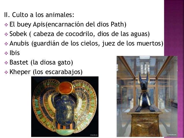 IV. Los grandes dioses: Ra (Sol) Shu Tefnut Geb Not (aire) (vacío) (tierra) (cielo) Osiris Isis Set Nerftet ( fertilidad) ...