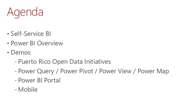 Exploring Puerto Rico Open Data with Power BI Slide 2