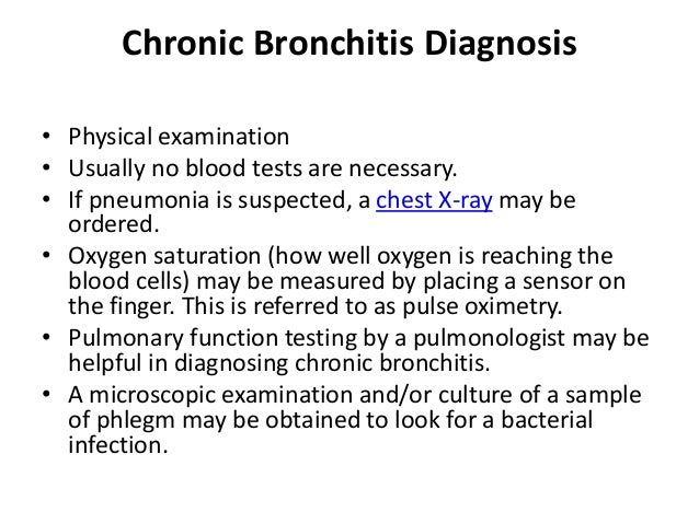 Chronic Bronchitis Symptoms And Treatment - Asthma Lung ...