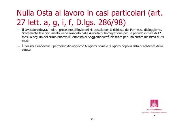 Trattamento fiscale e contributivo dei lavoratori italiani for Permesso di soggiorno per lavoro subordinato