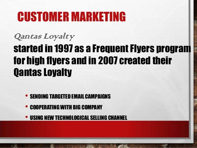 marketing qantas Qantas airlines is the official airline of australia and is also the biggest player in the country  i love writing about the latest in marketing & advertising.