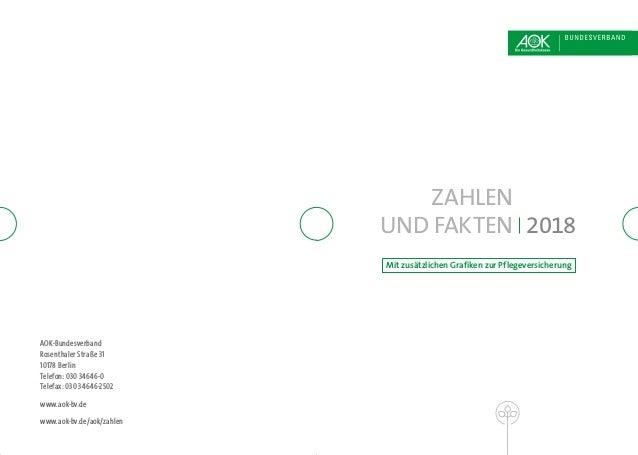 AOK-Bundesverband Rosenthaler Straße 31 10178 Berlin Telefon: 030 34646-0 Telefax: 030 34646-2502 www.aok-bv.de www.aok-bv...