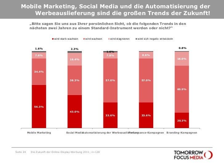 Mobile Marketing, Social Media und die Automatisierung der Werbeauslieferung sind die großen Trends der Zukunft!<br />Seit...