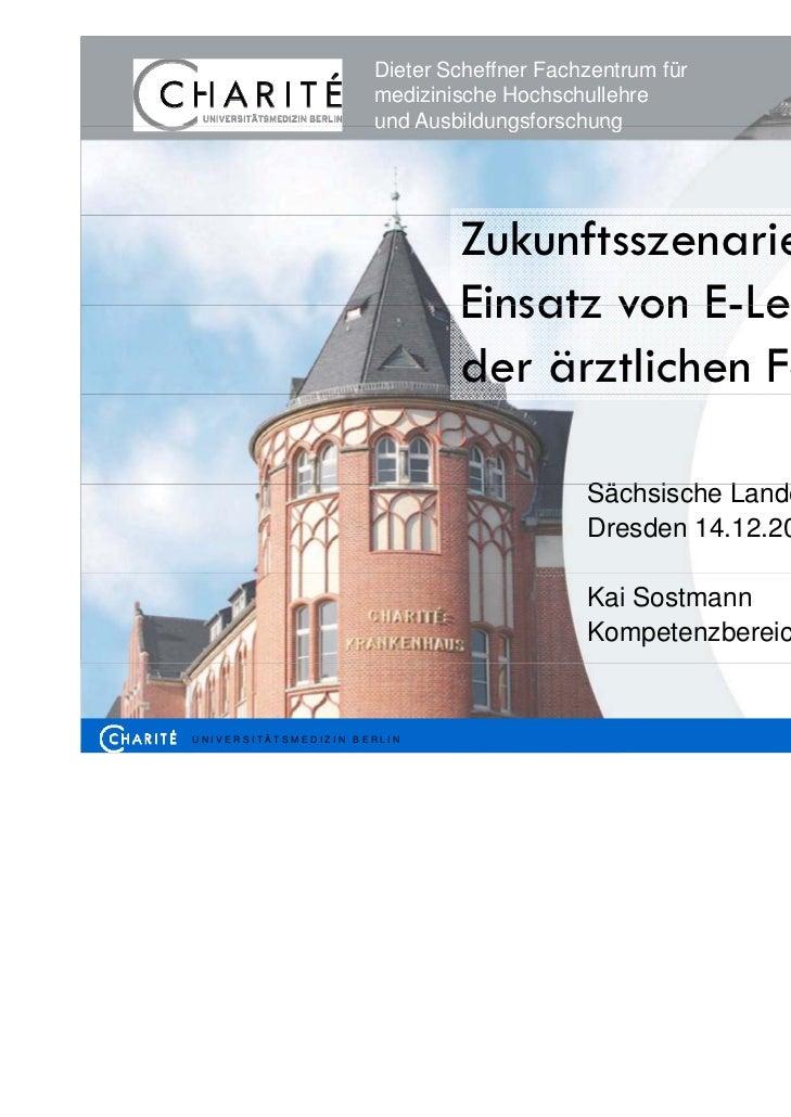 Dieter Scheffner Fachzentrum für                      medizinische Hochschullehre                      und Ausbildungsfors...