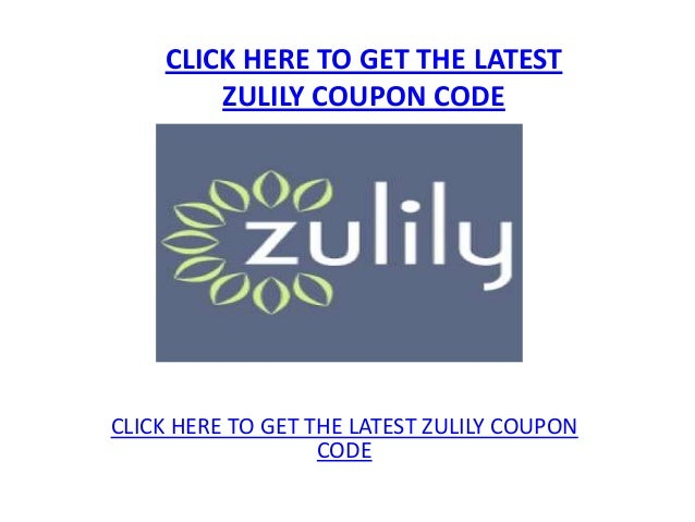 zulily coupons and promos