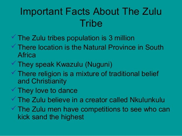 Zulu Tribe Location Zulutribepowerpoint 12...