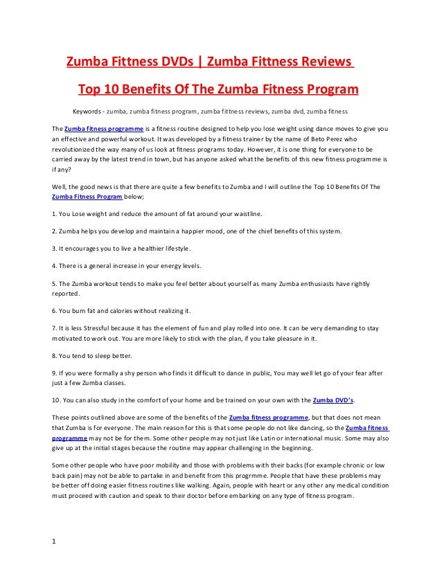 Zumba Fittness DVDs | Zumba Fittness Reviews         Top 10 Benefits Of The Zumba Fitness Program       Keywords - zumba, ...