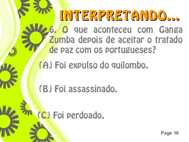 Zumbi dos palmares 18 click here to download this powerpoint template toneelgroepblik Gallery