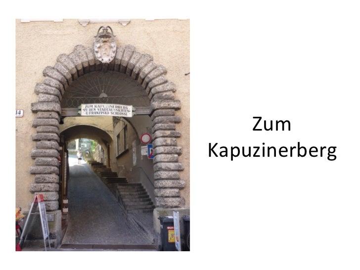 Zum Kapuzinerberg