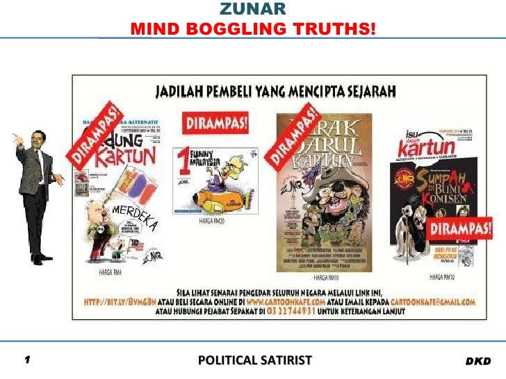 POLITICAL SATIRIST ZUNAR MIND BOGGLING TRUTHS! DKD