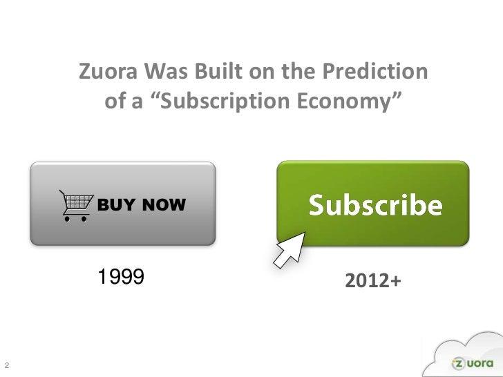 Zuora @ AlwaysOn 2012 - The Only 3 SaaS Metrics That Matter Slide 2
