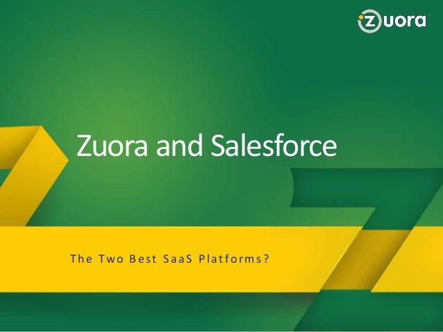 Zuora for Salesforce