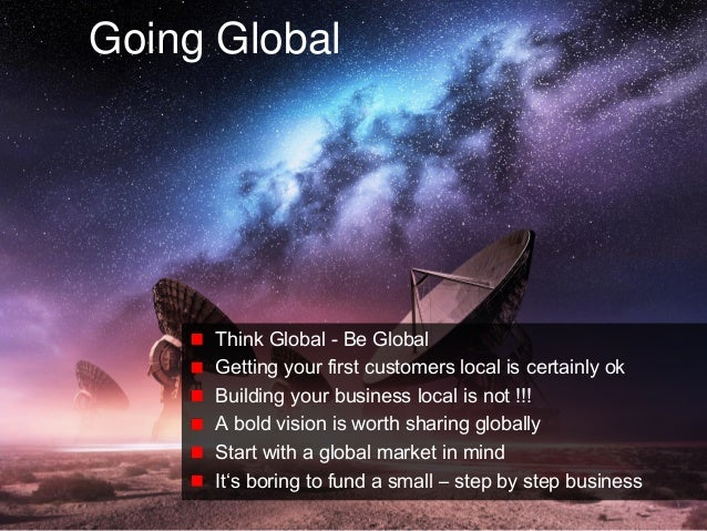 © Copyright Society3 2015 Copying or distribution is prohibited #Society3 Going Global Think Global - Be Global Getting yo...