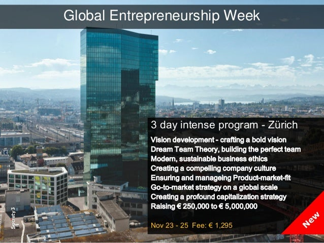 © Copyright Society3 2015 Copying or distribution is prohibited #Society3 Global Entrepreneurship Week 3 day intense progr...