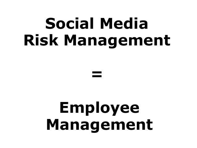 Healthcare, Social Media and Risk Management