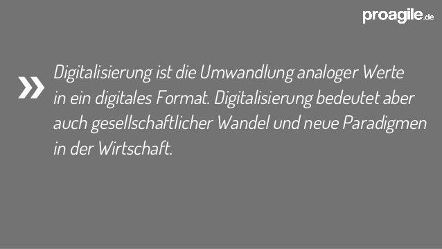Digitalisierung  - Quo vadis? Slide 2