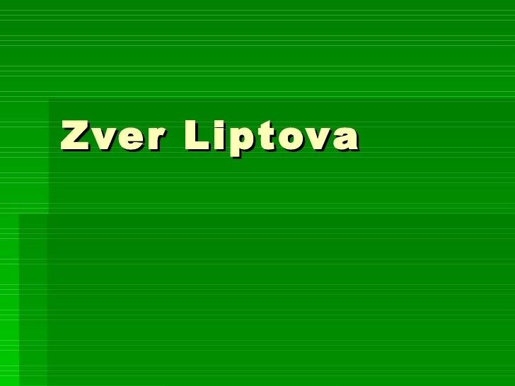 Zver Liptova