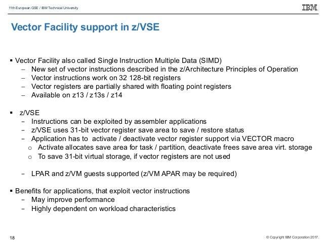 Latest news on IBM z/VSE