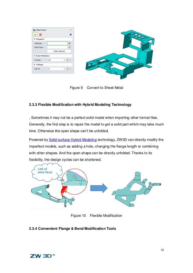 Zw3d White Paper Sheet Metal Design
