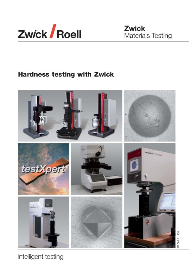 FP 303 2.1208  Hardness testing with Zwick  Intelligent testing