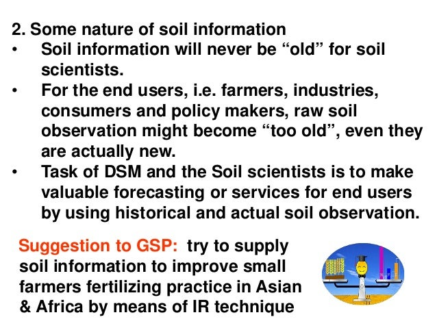 Processing and integrating soil map information from for Soil pictures and information