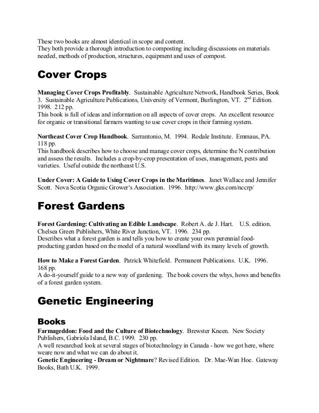 Organic growing reference books canadian organic growers 4 solutioingenieria Images