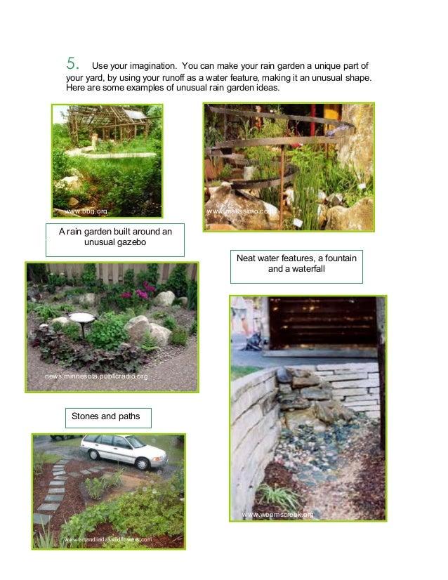 Rain Garden Ideas Alabama rain garden design for home owners guidebook 8 5 workwithnaturefo
