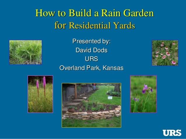 Overland park kansas how to build a rain garden - Home and garden show overland park ...