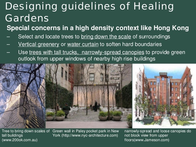 Introducing Healing Gardens into a Compact University ...