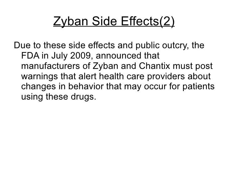 Zyban Side Effects Tinnitus