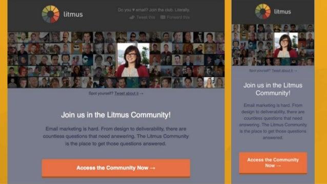 @lindsaylee13 Litmus Learning Center litmus.com/learning • Email client market share • Code tips