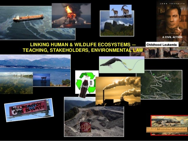 LINKING HUMAN & WILDLIFE ECOSYSTEMS — TEACHING, STAKEHOLDERS, ENVIRONMENTAL LAW
