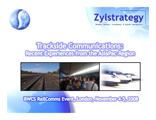 Zylstrategy has been supporting mobility projects for a number of public transport operators in Europe, AsiaPac & Australi...