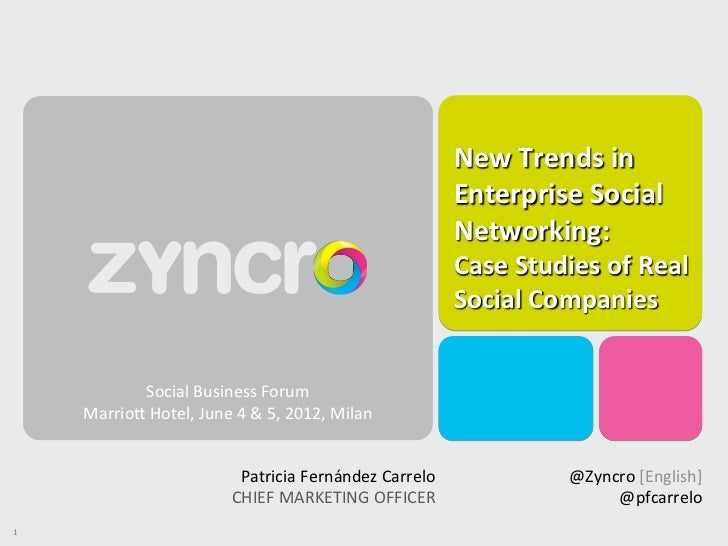 Enterprise social networking case studies