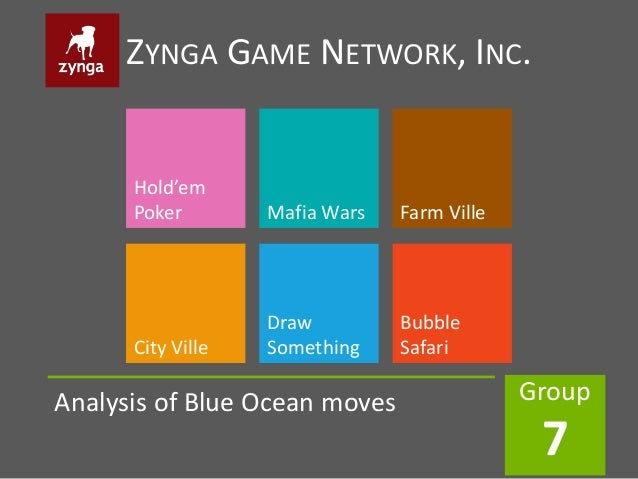 ZYNGA GAME NETWORK, INC.      Hold'em      Poker        Mafia Wars   Farm Ville                   Draw         Bubble     ...