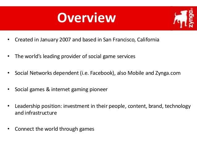 Zynga presentation-Corporate Strategy Slide 3