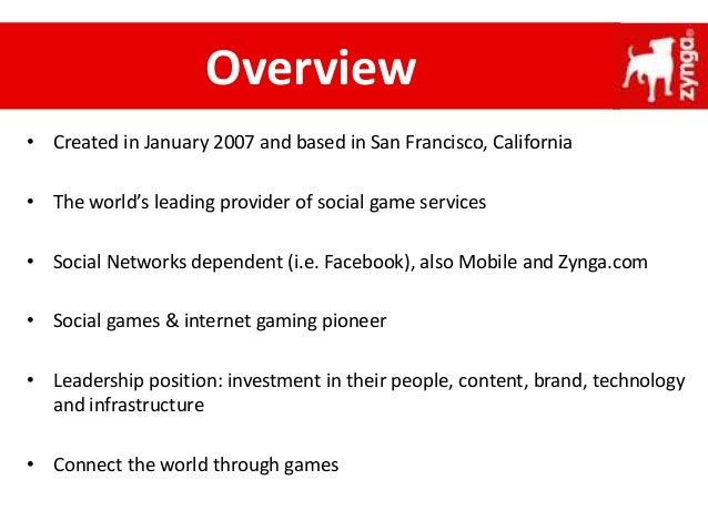Zynga - Strategic Analysis Slide 3