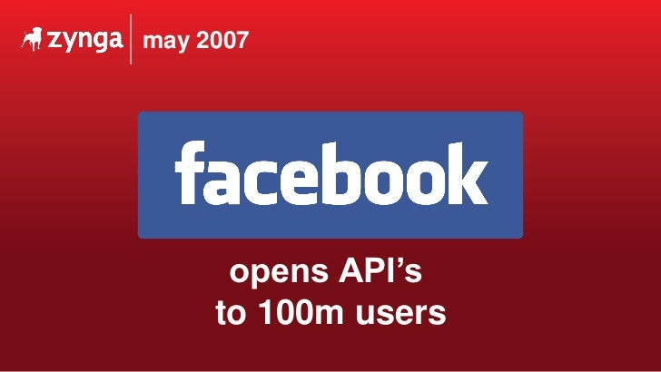 may 2007  opens API's  to 100m users