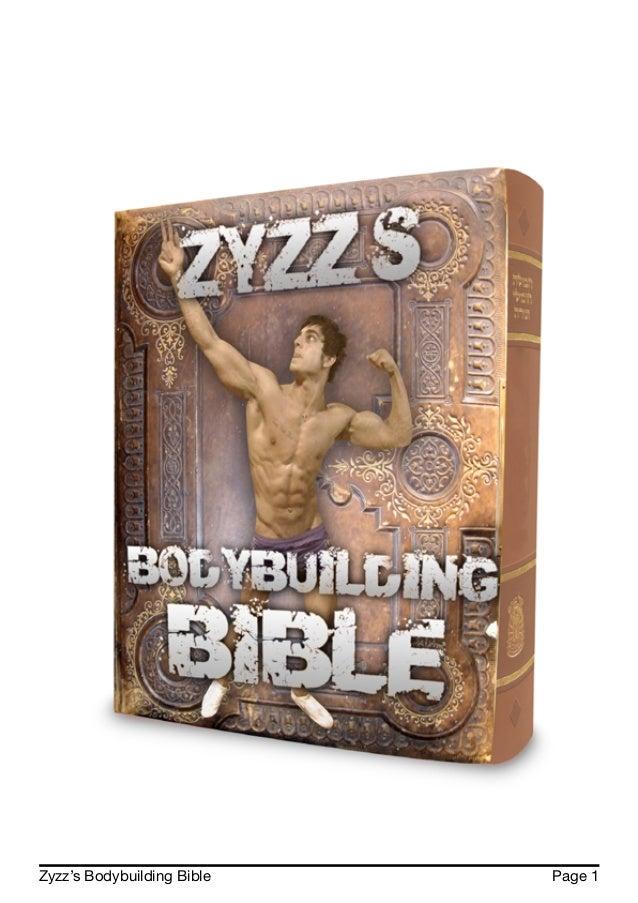 Zyzz's Bodybuilding Bible Page 1
