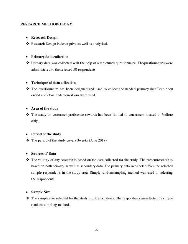 Consumer preference at dinamalar