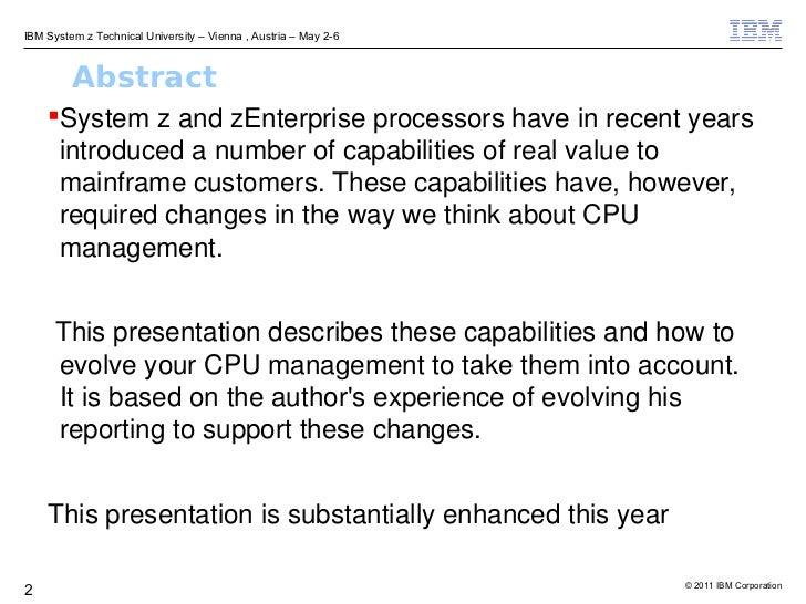 Much Ado about CPU Slide 2