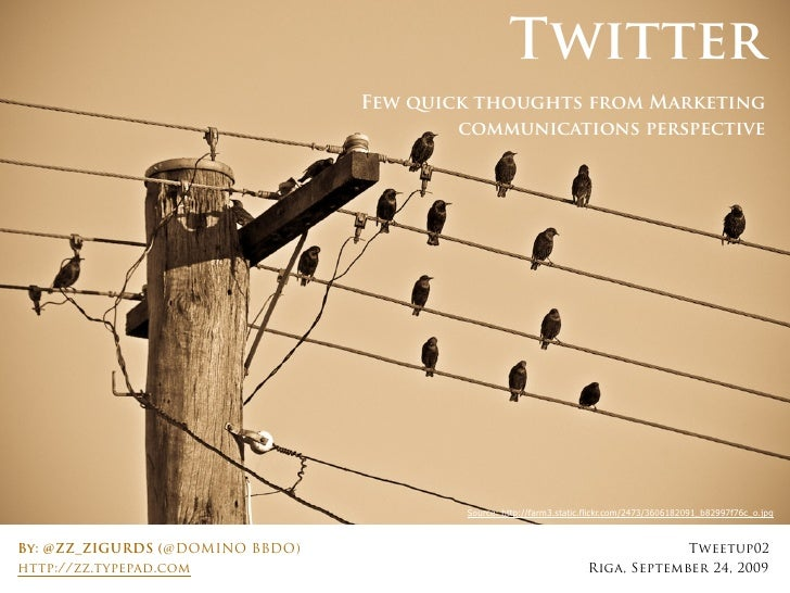 Twitter                                  Few quick thoughts from Marketing                                          commun...